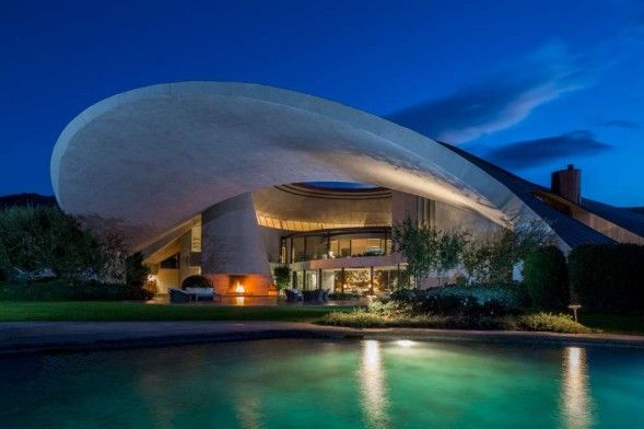 Bob Hope's architectural treasure is on the market for 50 million dollars!
