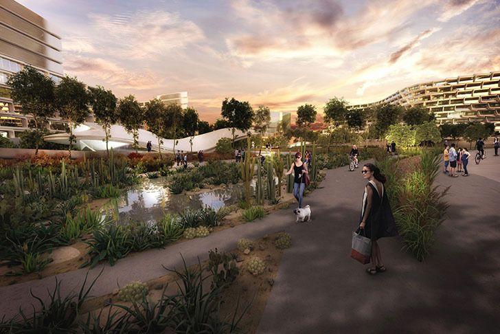 El primer proyecto de Zaha Hadid en México es un complejo de cubierta del panal - Monterrey, Nuevo Leon, Mexico