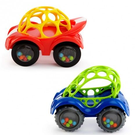 Rhino Toys Oball Rattle & Roll Cars
