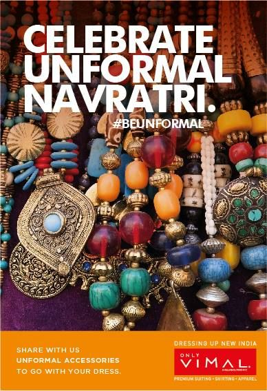 Send us photos of the #Unformal accessories that you will wear for Dandiya. You could #win exciting prizes. #Contest
