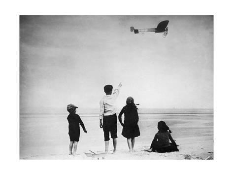 Blériot English Channel Flight, 1909 Photographic Print