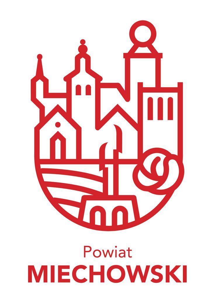 Zwycięski projekt na logo powiatu miechowskiego