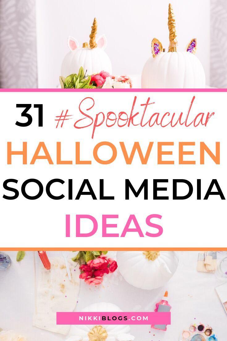 Social Media Halloween 2020 31 Unique Halloween Social Media Ideas for 2020 | Halloween social