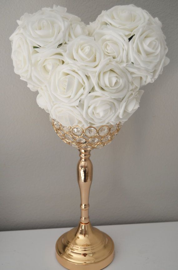 Disney Wedding Centerpiece Mickey Mouse Flower by KimeeKouture