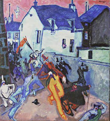 Lyonel Feininger, Uprising 1910