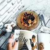 Чернично-миндальные кексы. Ингредиенты: яйца куриные, сахар, сметана | Кулинарный сайт Юлии Высоцкой: рецепты с фото