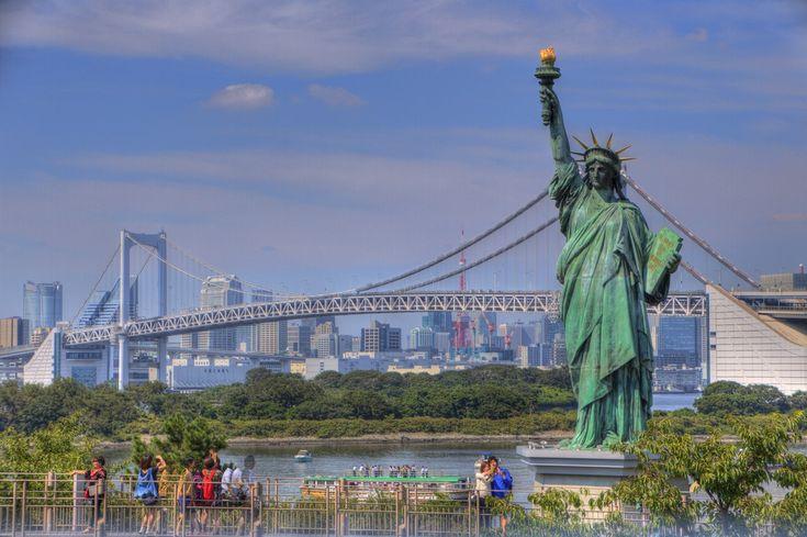 お台場の自由の女神 odaiba_Statue of Liberty (5)
