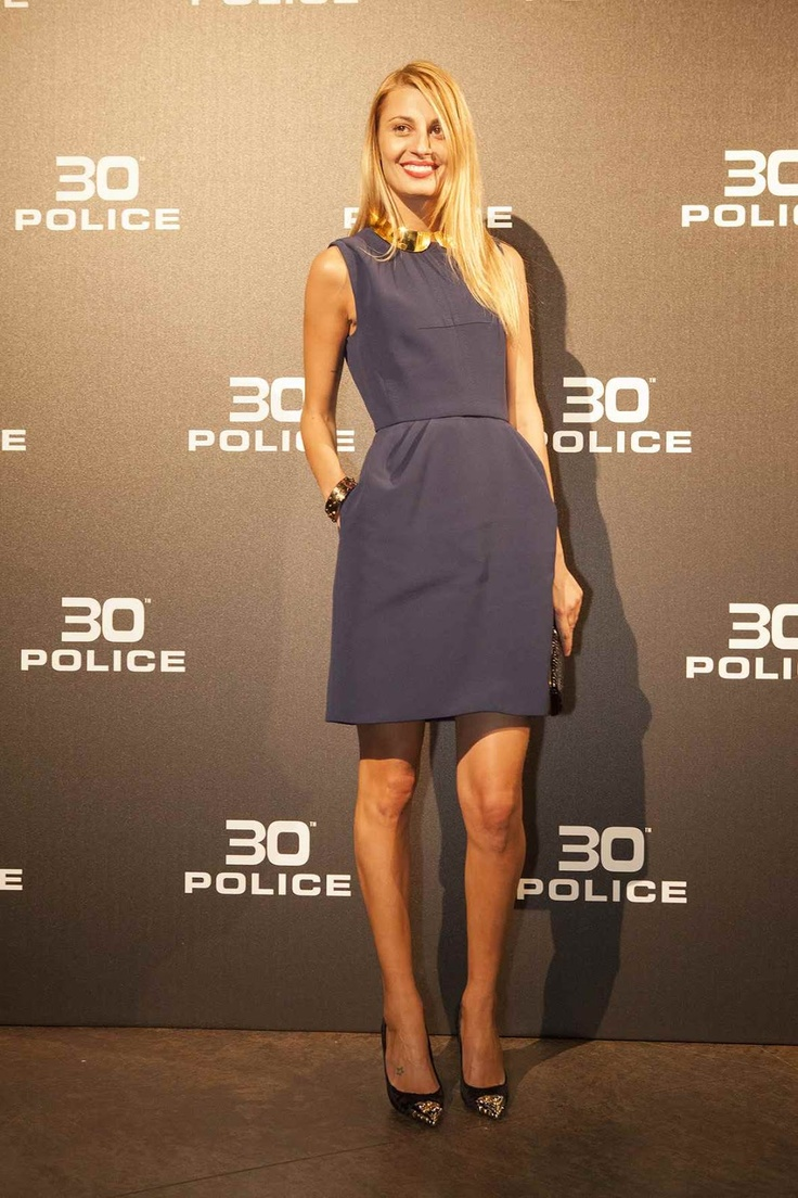 Fashionista Smile: Fashion, Beauty and Style: Police 30th Anniversary V.I.P. Party - Look Beyond