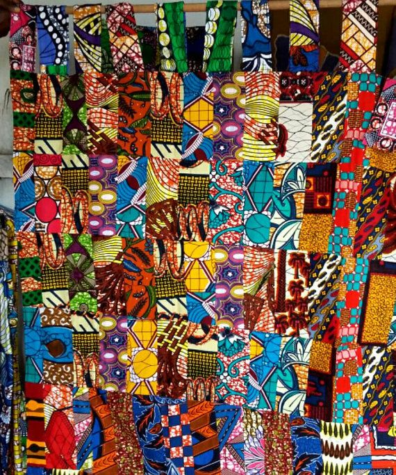 rideaux imprim africain rideau ankara cire par africaonelove accessoires wax pinterest. Black Bedroom Furniture Sets. Home Design Ideas