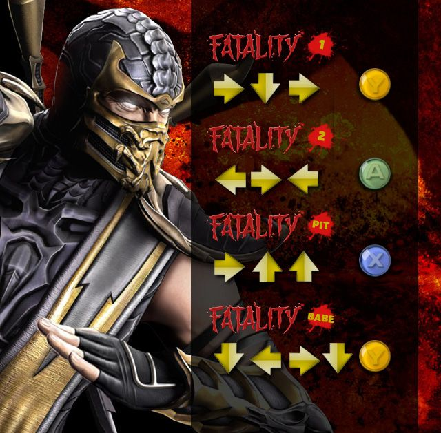 [Akatsuki]ninja animes e games: mortal kombat todos fatalities #mortalkombat #mortal