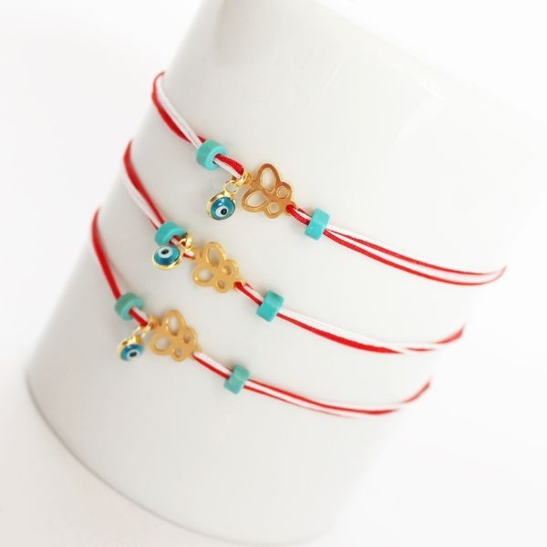 Butterfly march bracelet