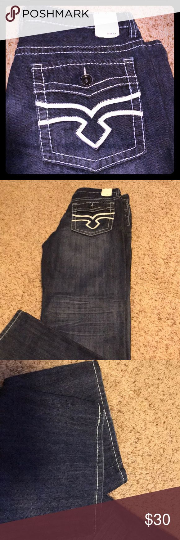 Helix Bootcut Jeans Excellent condition men's jeans. These were rarely worn as they did not fit for long. 34x32 helix Jeans Bootcut #mensjeansbootcut