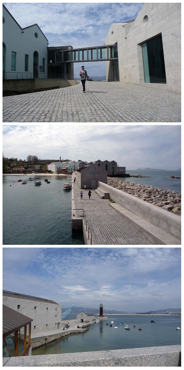 Museo Do Mar in Vigo, Portugal by Aldo Rossi and César Portela