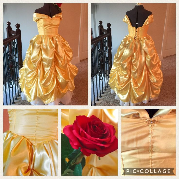 February's dress completed! A commissioned Belle dress for the upcoming Beauty and the Beast movie. Added some beading for a slight sparkle with movement. Man! That skirt can get big. Feb 2017
