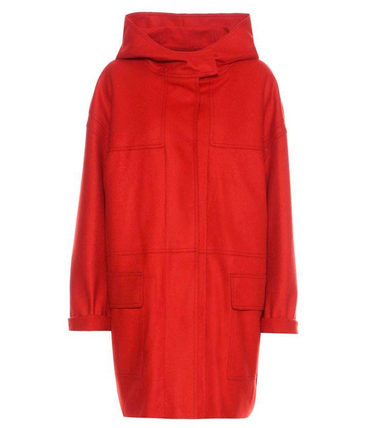 mytheresa.com - Mantel Elton aus Schurwolle und Cashmere - Isabel Marant, Étoile - Designer - Luxury Fashion for Women / Designer clothing, shoes, bags