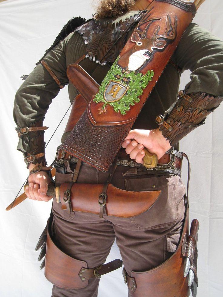 Leather work 94 set 3 by ~HamraBDG on deviantART