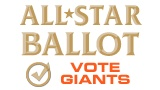 April 30-we have the day off today. Take some time and vote for your favorite GIANTS on the All*Star ballot. Nate Schierholtz is not on the ballot, but there is a spot for a write-in, which I used to vote for Nate. In fact, I picked our entire outfield because I am so impressed with Pagan, Melky and Nate. Buster is on the ballot, along with Brandon Belt, Brandon Crawford, Aubrey Huff, Freddy Sanchez, and of course, the Panda. You can vote 25 times per email address, so get busy!