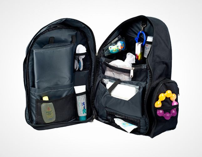Every stay-at-home dad needs this backpack diaper bag.