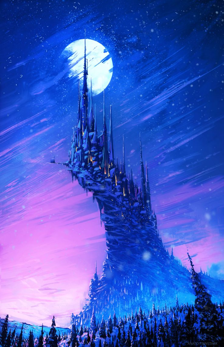 ArtStation - The city of winter ( + Youtube video), Anato Finnstark
