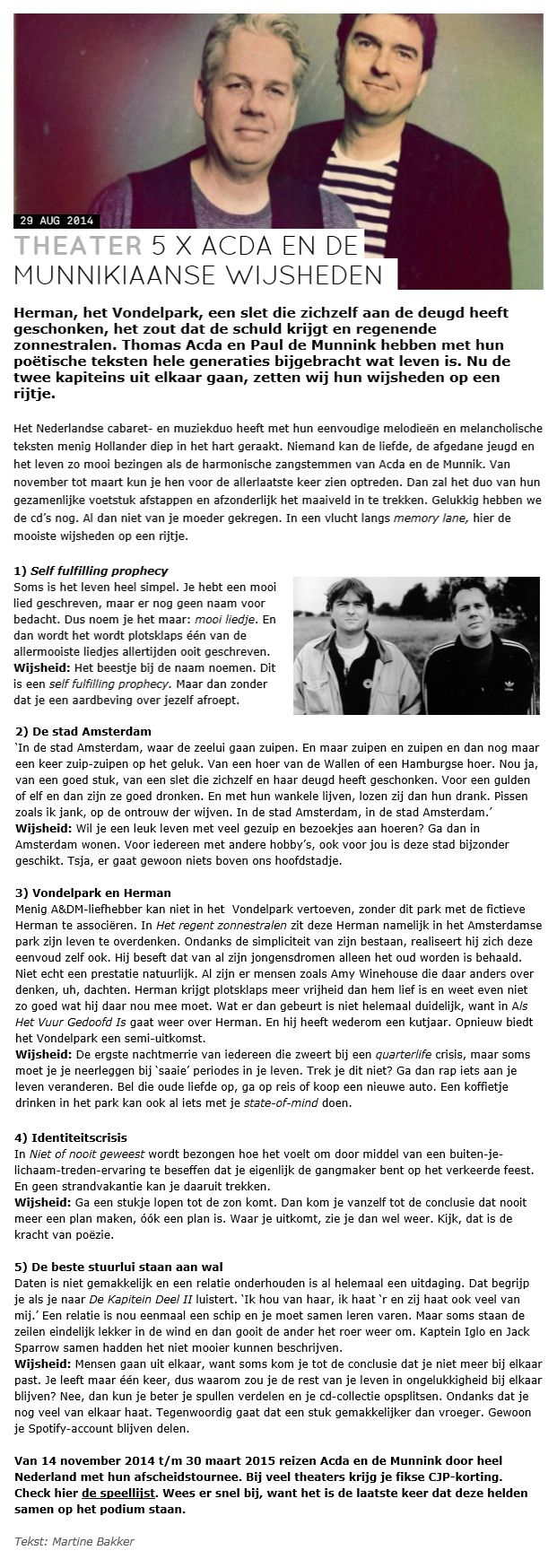 Acda en De Munnik. © 2014 CJP, Martine Bakker.