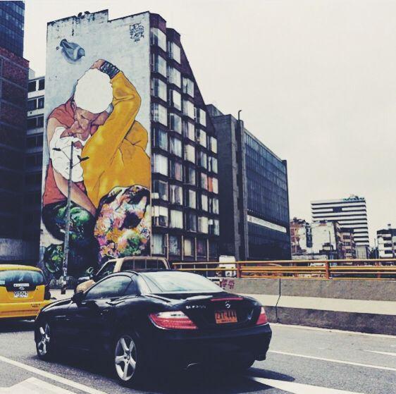 Bésame en Bogotá. Andrew Perdomo.