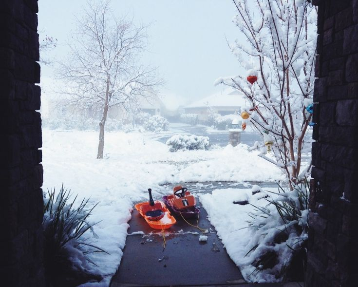 this was our snow day this winter. kinda wishing we had snow right now!