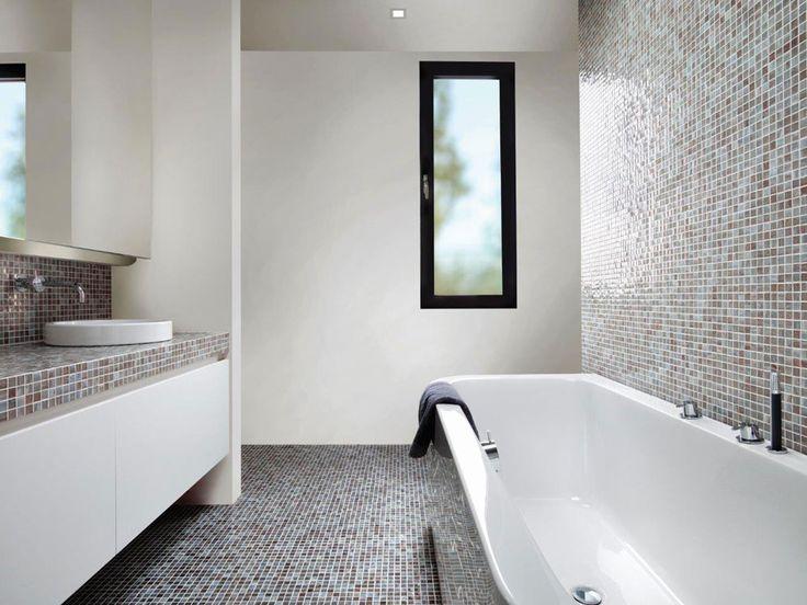 20 beste idee n over moza ek badkamer op pinterest - Badkamer met mozaiek ...