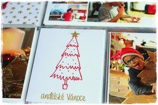 """Vánoční project life s použitím Nemravka kartiček """"kouzelné Vánoce"""""""