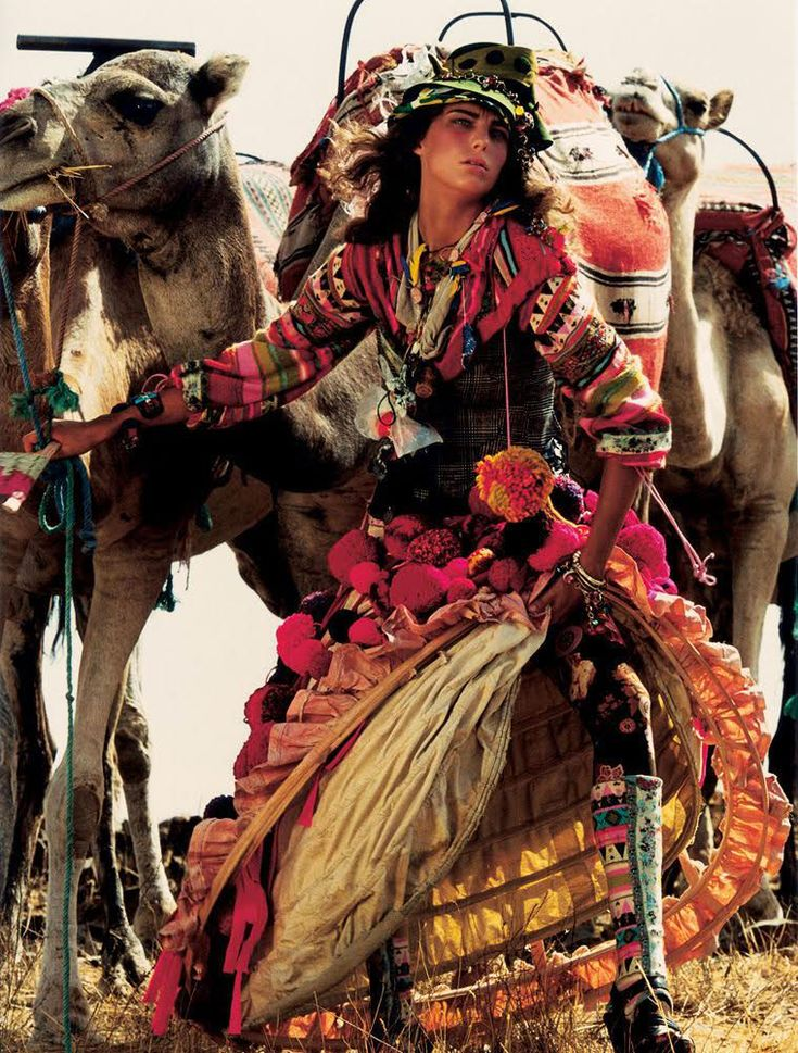 Fashion shoots in Morocco series: Vogue UK