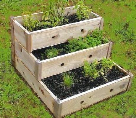 Jardineras De Madera Para El Invierno