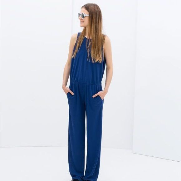 Selling this Zara Trafaluc Open Back Jumpsuit in my Poshmark closet! My username is: jerseyny. #shopmycloset #poshmark #fashion #shopping #style #forsale #Zara #Other