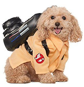 Amazon.com : Ghostbusters Movie Pet Costume, Large, Ghostbuster Jumpsuit : Buster : Pet Supplies