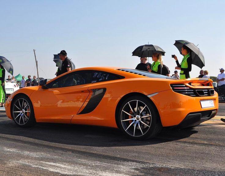 Spotless 12C ready to rip down the strip at ODI Raceway  Awesome shot by @mbmotoringchannel  #ExoticSpotSA #Zero2Turbo #SouthAfrica #McLaren #MP412C #ODI