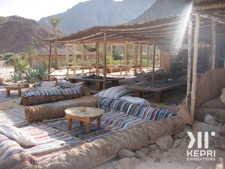 One of our favorite ecolodges we use on our Kepri Expeditions... in Sinai, Egypt...