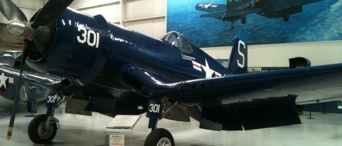 Chance Vought F-4U Corsair. Palm Springs Air Museum.