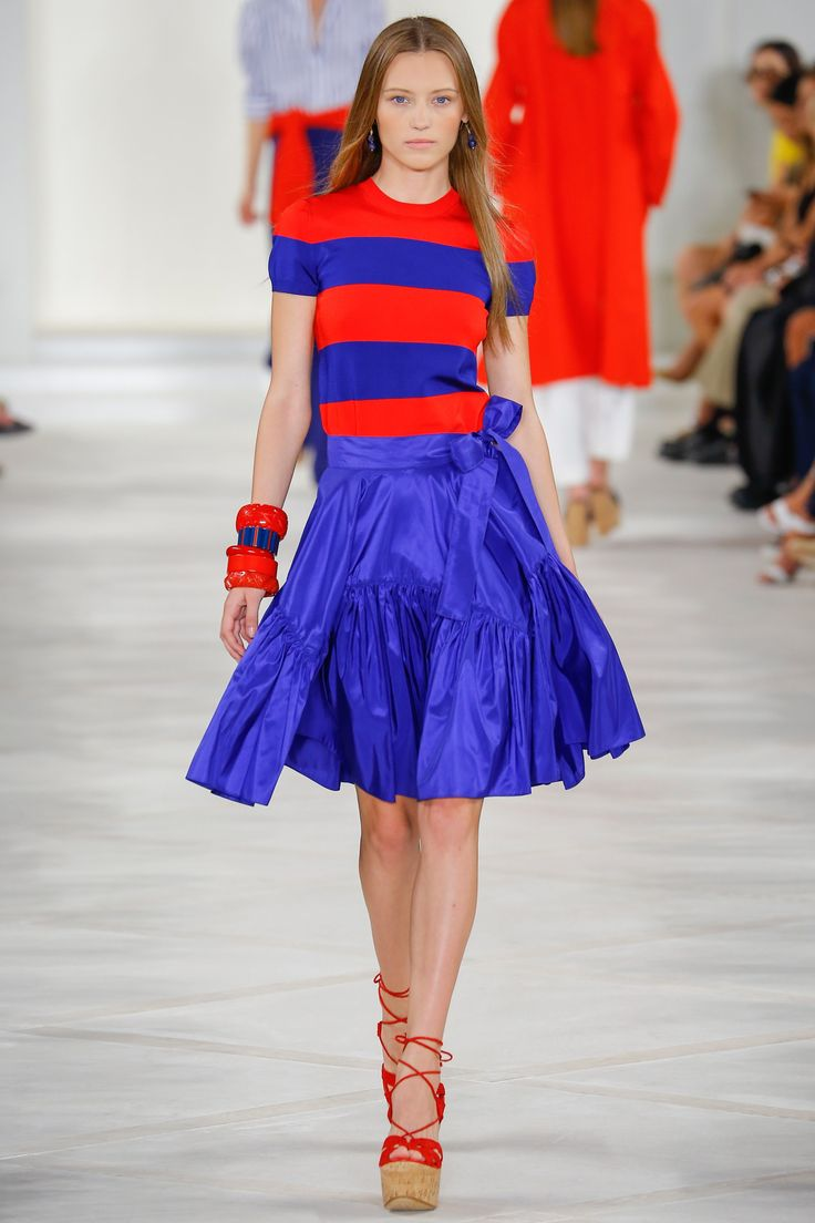 Ralph Lauren Spring 2016 Ready-to-Wear Fashion Show - Mila Krasnoiarova