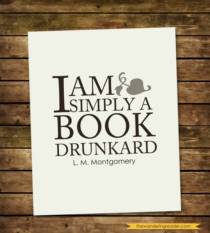 Book Lover Quotes: 17 Best Images About L M Montgomery Quotes On Pinterest