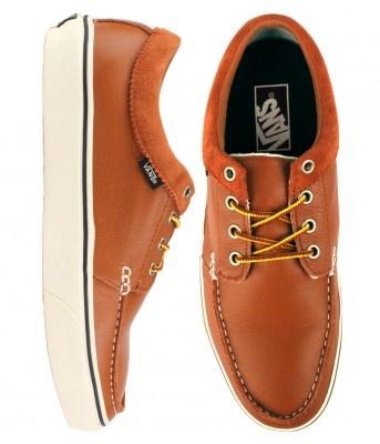 Vans 106 Moc Shoes - (Leather Brown) $65.00 #vans #106moc