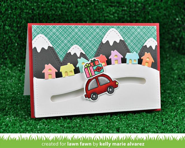 the Lawn Fawn blog: Lawn Fawn Intro: Home for the Holidays, Little Town Border