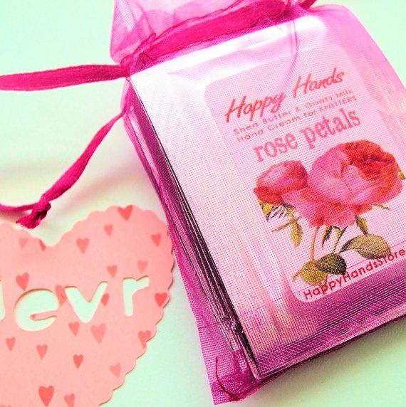 Valentine Hand Cream Sampler Set HAPPY HANDS by HappyHandsStore