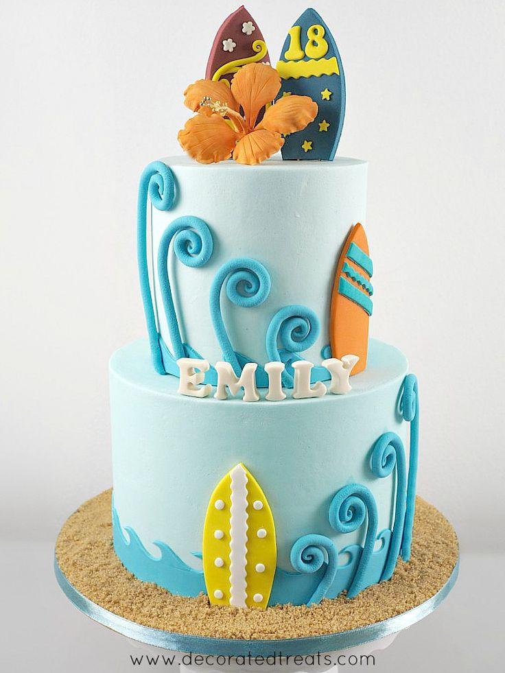 27+ Beautiful Image of Beach Birthday Cake – Cakes