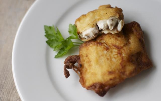 Pescado frito, receta chilena / Fried fish   En mi cocina hoy