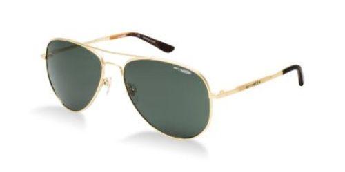 Trooper Aviator sunglasses in Gold by Arnette. #Designer #Sunglasses #Australia #Arnette #mens #menssunglasses #aviatorsunglasses #aviator #trooperaviator #gold #goldsunglasses #goldaviator