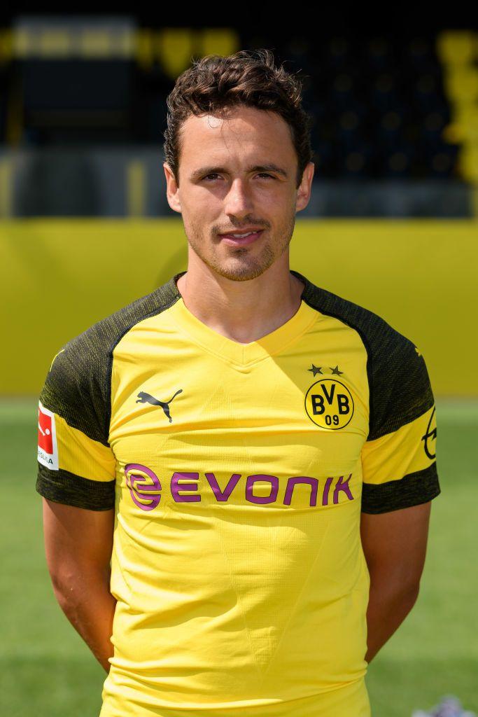 DORTMUND, GERMANY - AUGUST 10: Thomas Delaney of Borussia Dortmund ...