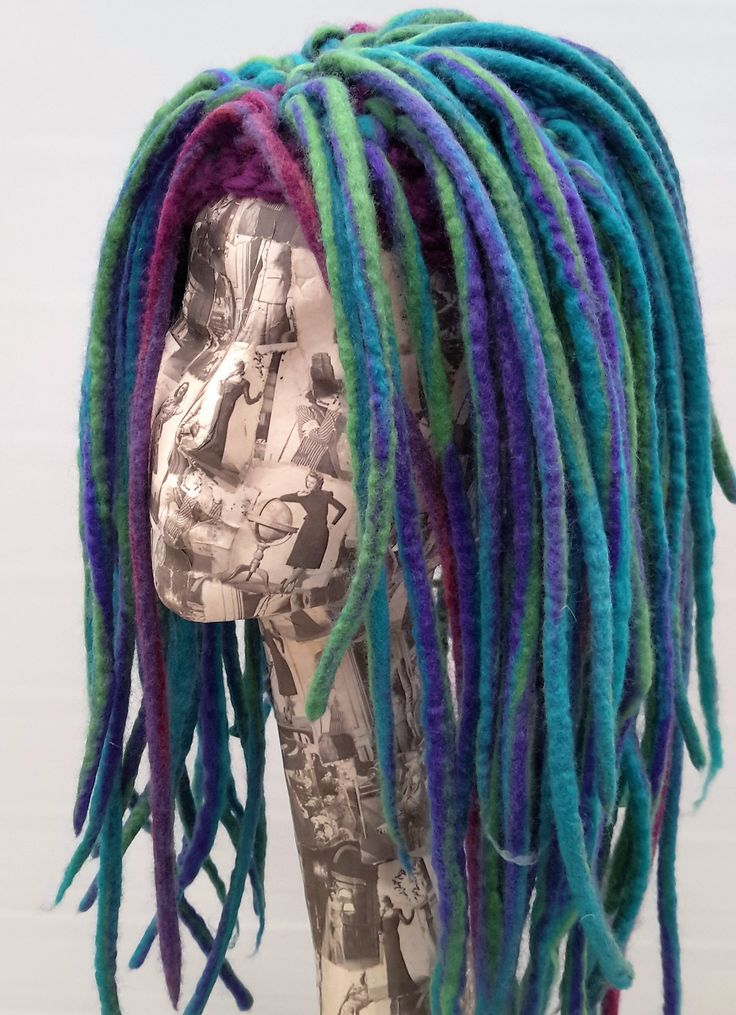 How to Make a Hat with Wet Felt Dreads
