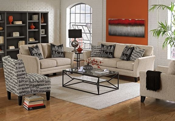 American Signature Furniture Union Square Upholstery Collection Sofa Furniture
