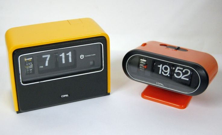 15 best kick ass flip clocks vintage clock radios images on pinterest vintage clocks. Black Bedroom Furniture Sets. Home Design Ideas