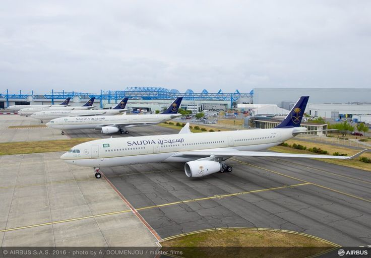 SAUDIA va introduce Airbus A330-300 Regional pe ruta Riyadh – Munchen