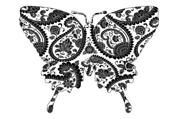 Template 3d Butterfly Svg