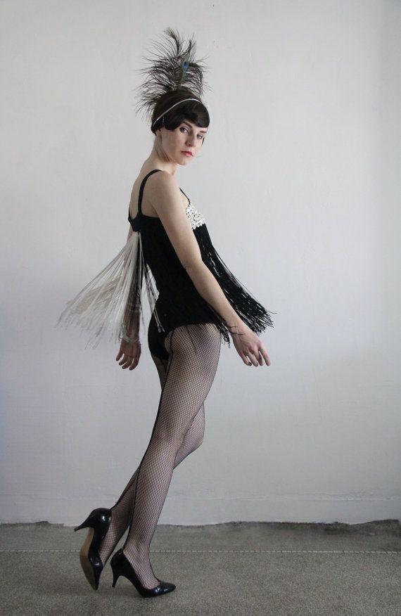 Vintage Show Girl Costume  #Burlesque .  VeraVague.etsy.com
